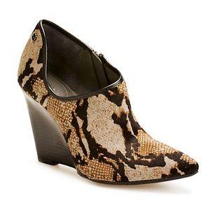 Calvin Klein Nadina Sleek Wedge Booties SIZE 9.5